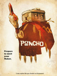 Poncho Movie Poster by Scifer