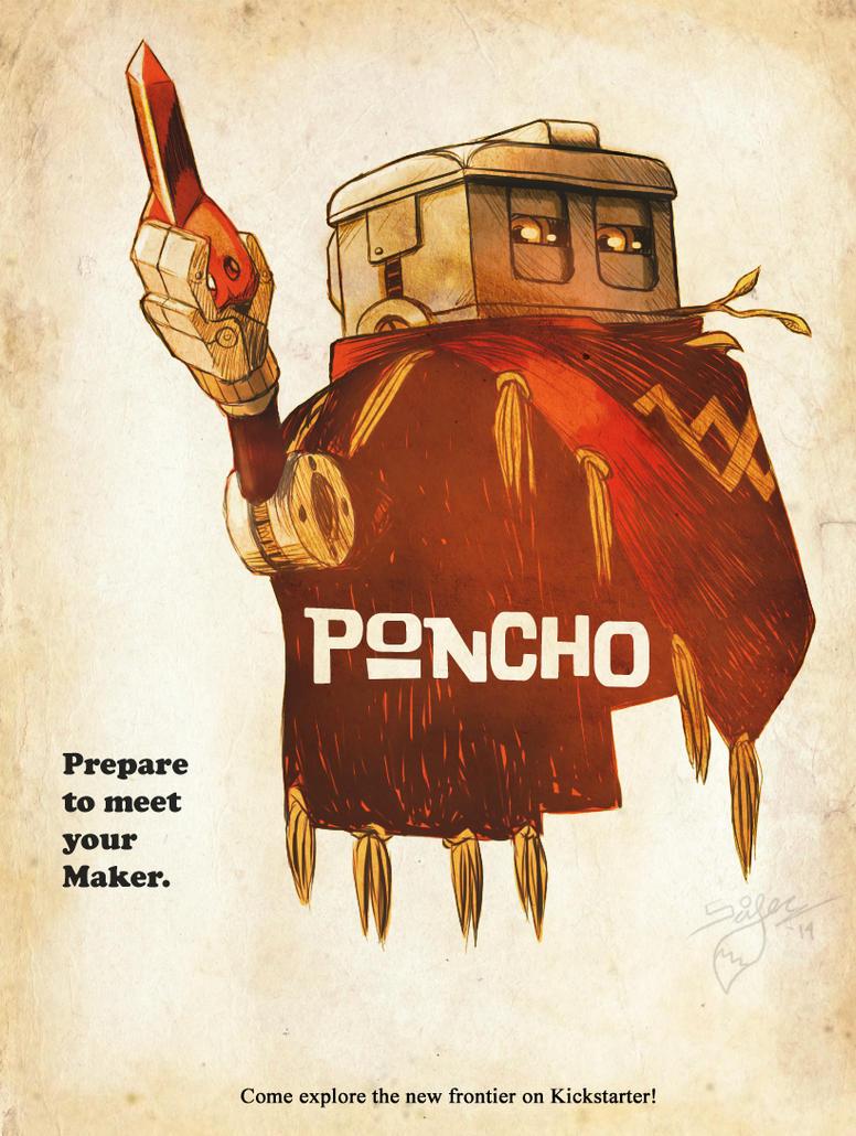 Poncho Movie Poster by Scifer