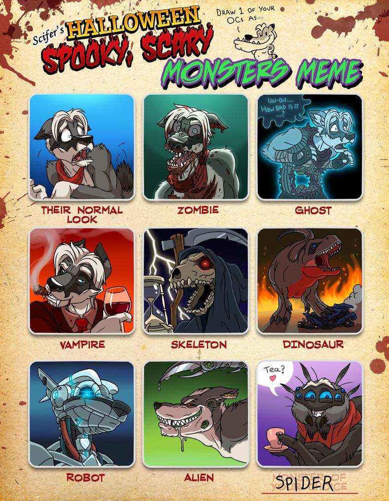 Monster Meme - Scifer by Scifer