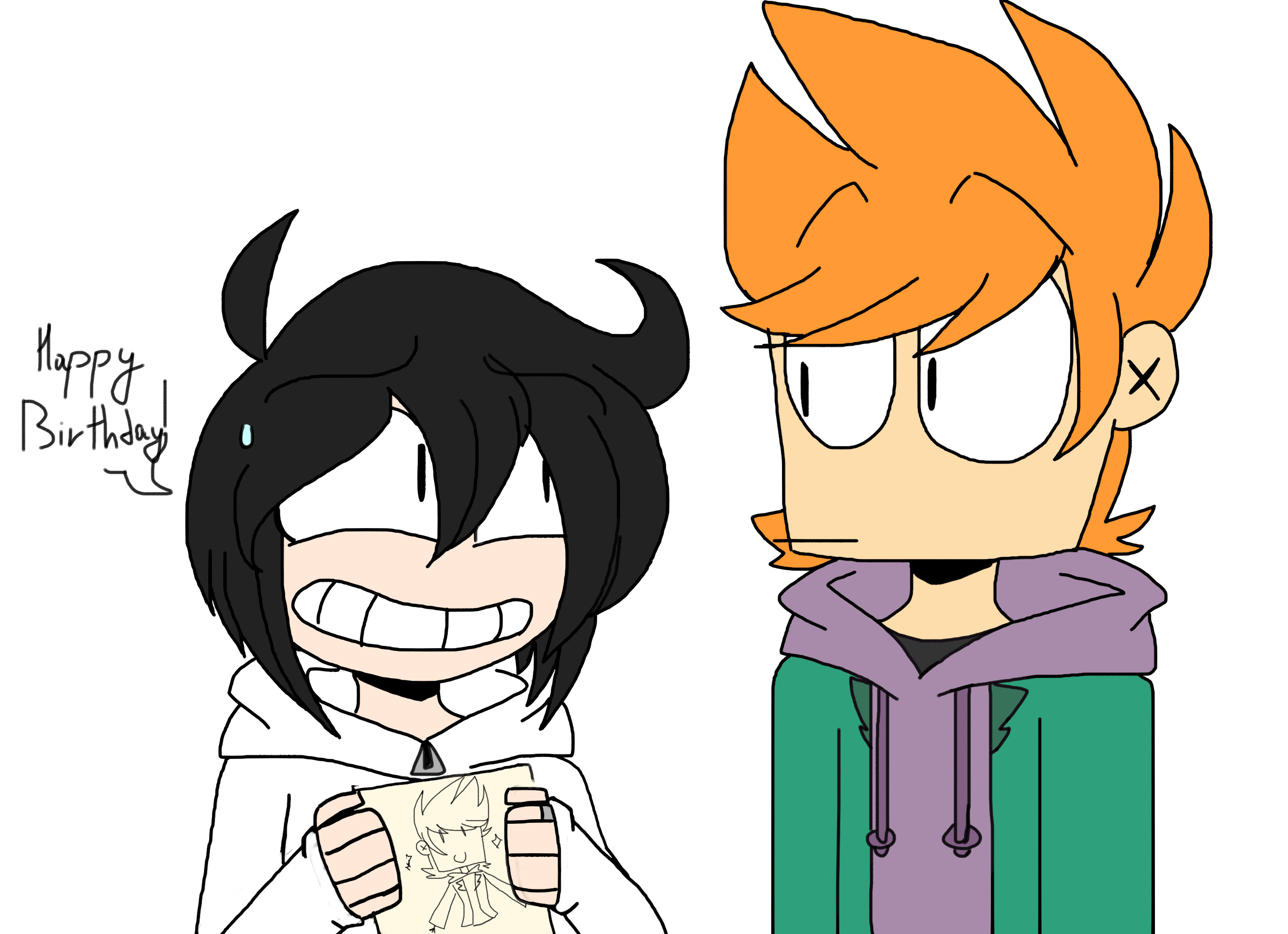 Eddsworld And Tomsworld Things I Like Favourites By – Desenhos Para