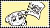 Popuko Die Stamp by AokiLeaf
