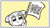 Popuko Die Stamp by AokiLeaf