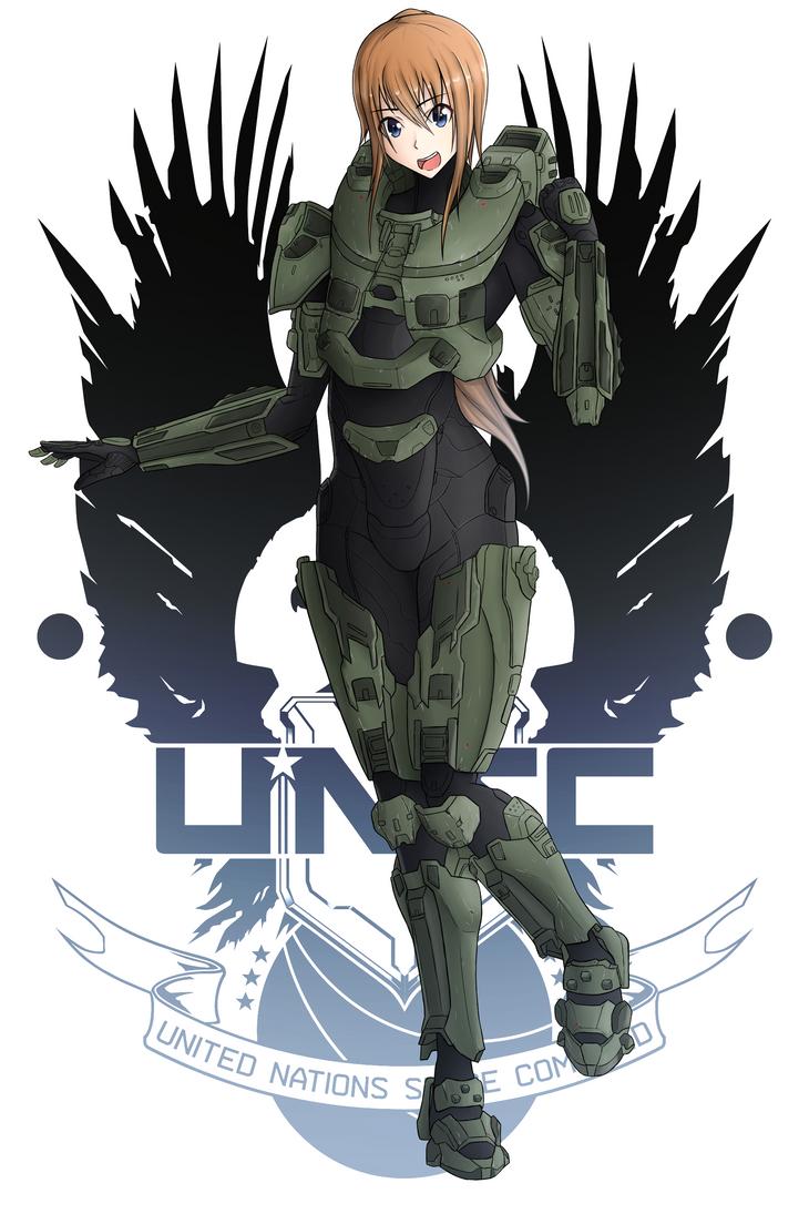 Sam (Halo Crossover) by AftermaThXCVII