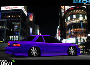 Nissan Silvian S13 Vip Car by NachDesign