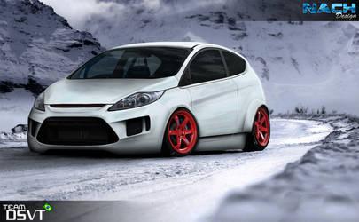 Fiesta Snow Running by NachDesign