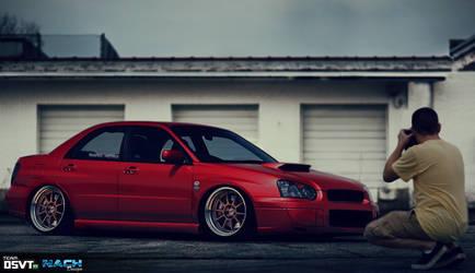 Subaru Impreza WRX by NachDesign