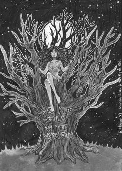 Inktober 2017: Who put Bella in the Wych Elm?