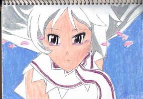 Momo the girl god of death by King-Arturia-Emiya