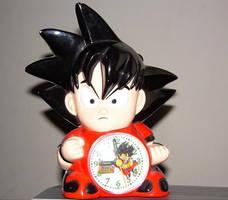 Gokuh Clock by King-Arturia-Emiya