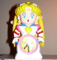 Sailor Moon Clock by King-Arturia-Emiya