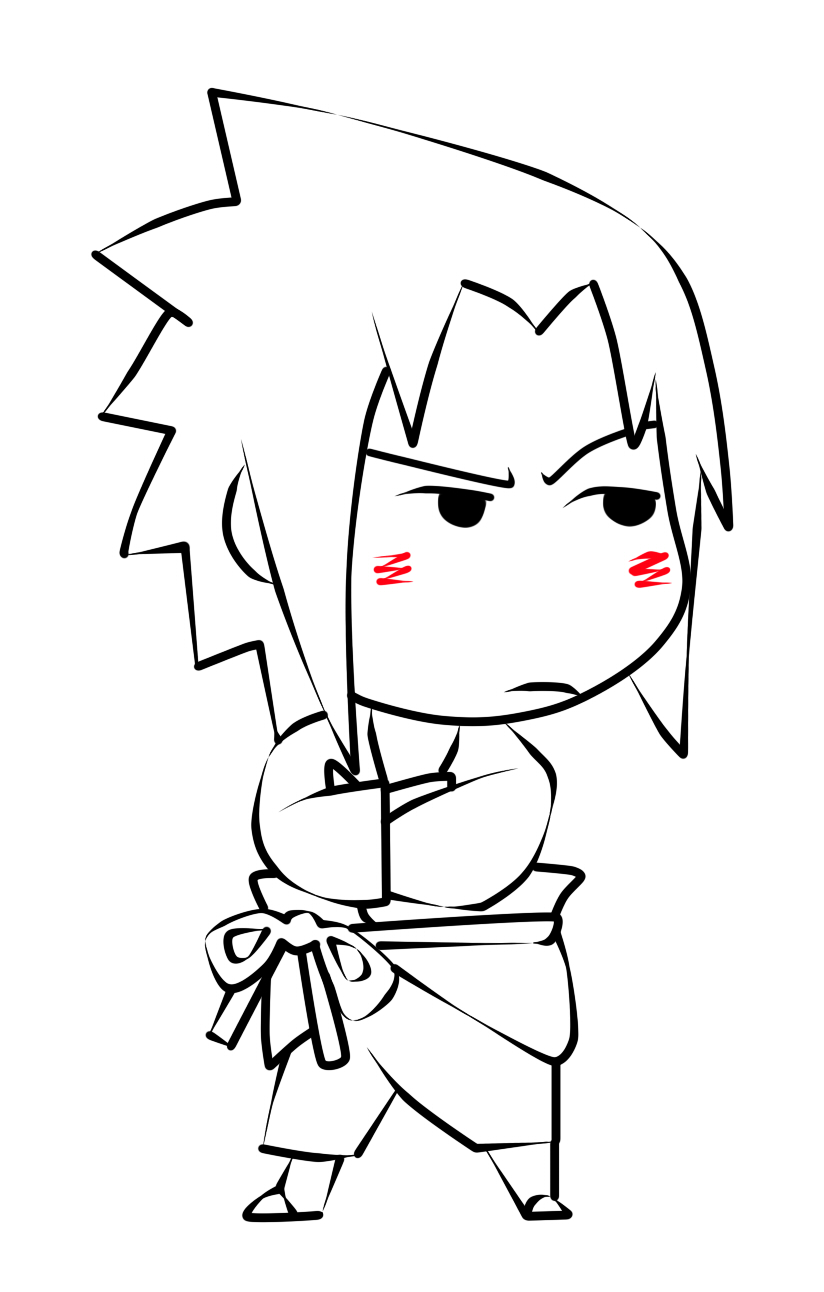 Chibi cute Sasuke x3 by Saamy-antha on DeviantArt
