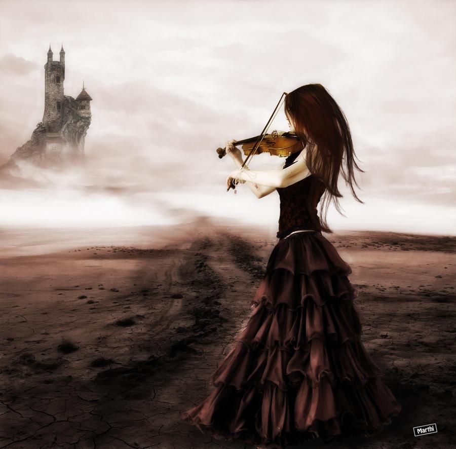 Violin Wallpaper: Pieza De Violin By DIABLOTINA On DeviantArt