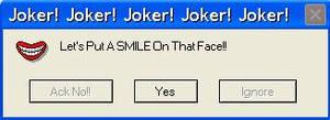 Joker Error