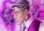 Welcome to Night Vale - Cecil and Khoshekh
