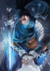 League of Legends-Yasuo by long5009