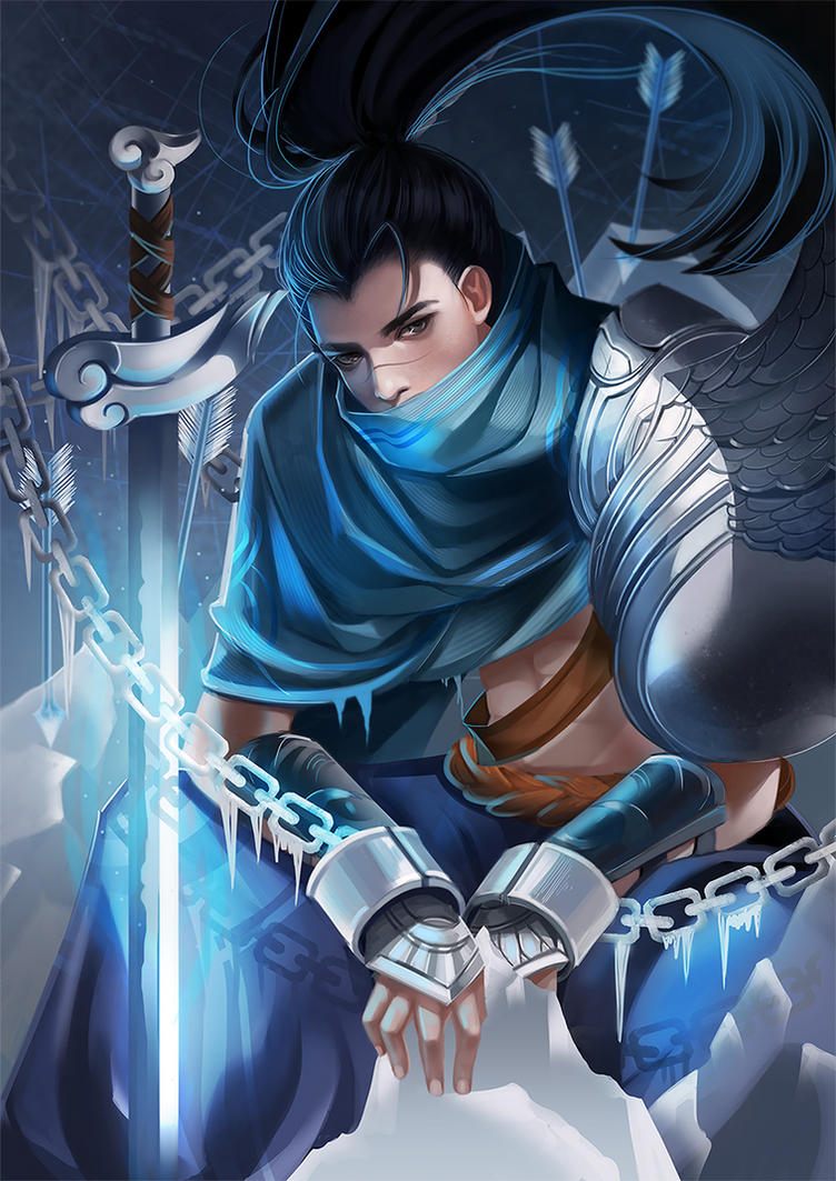 League Of Legends Yasuo By Long5009