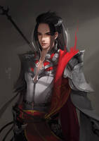 JX Online 3 - Ancient Chinese soldier