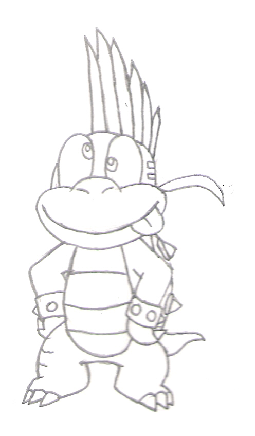 Lemmy Koopa Coloring Pages Coloring Pages