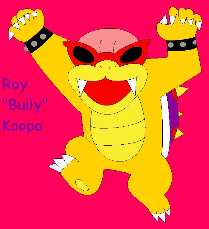 "Roy ""Bully"" Koopa by Crash-N-Cortex on deviantART"
