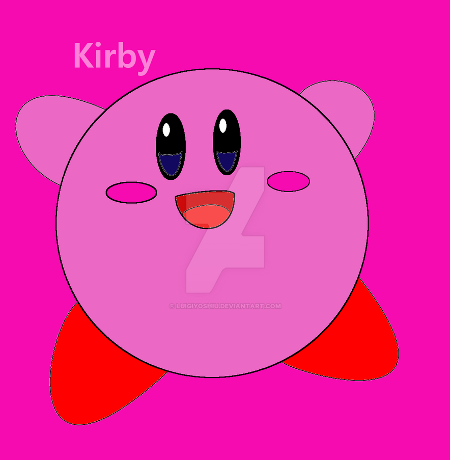 Kirby by LuigiYoshiU