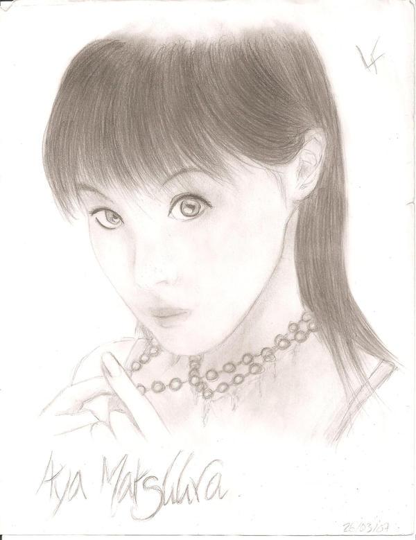 L'art a Reira =)_ Du nouveau p.13 -- Update :3 Aya_Matsuura_by_ThatsMeReira