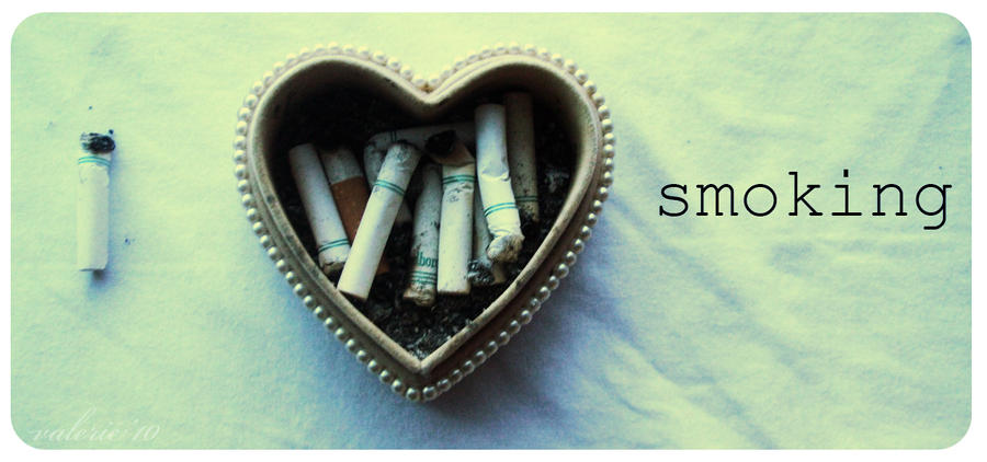 i L.O.V.E. smoking by valerievhiel