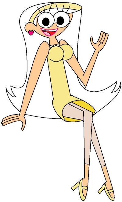 Judy Jetson as Honey Lemon by RedheadXilamGuy