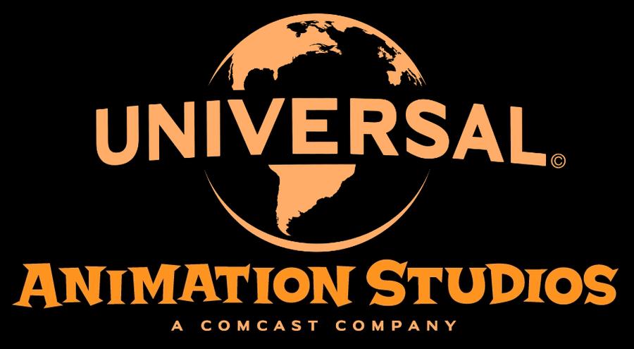 universal animation studios new print logo by