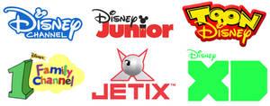 Disney Channel Worldwide Networks by RedheadXilamGuy