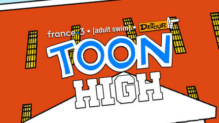 Toon High title card by RedheadXilamGuy