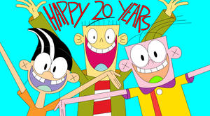 Happy 20th Anniversary, Ed, Edd n Eddy! by RedheadXilamGuy