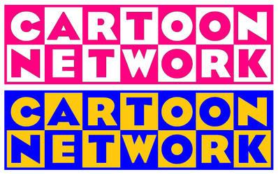 Cartoon Network prelaunch checkerboard logos