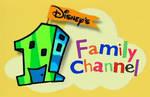Disneys 1 Family Channel prototype logo