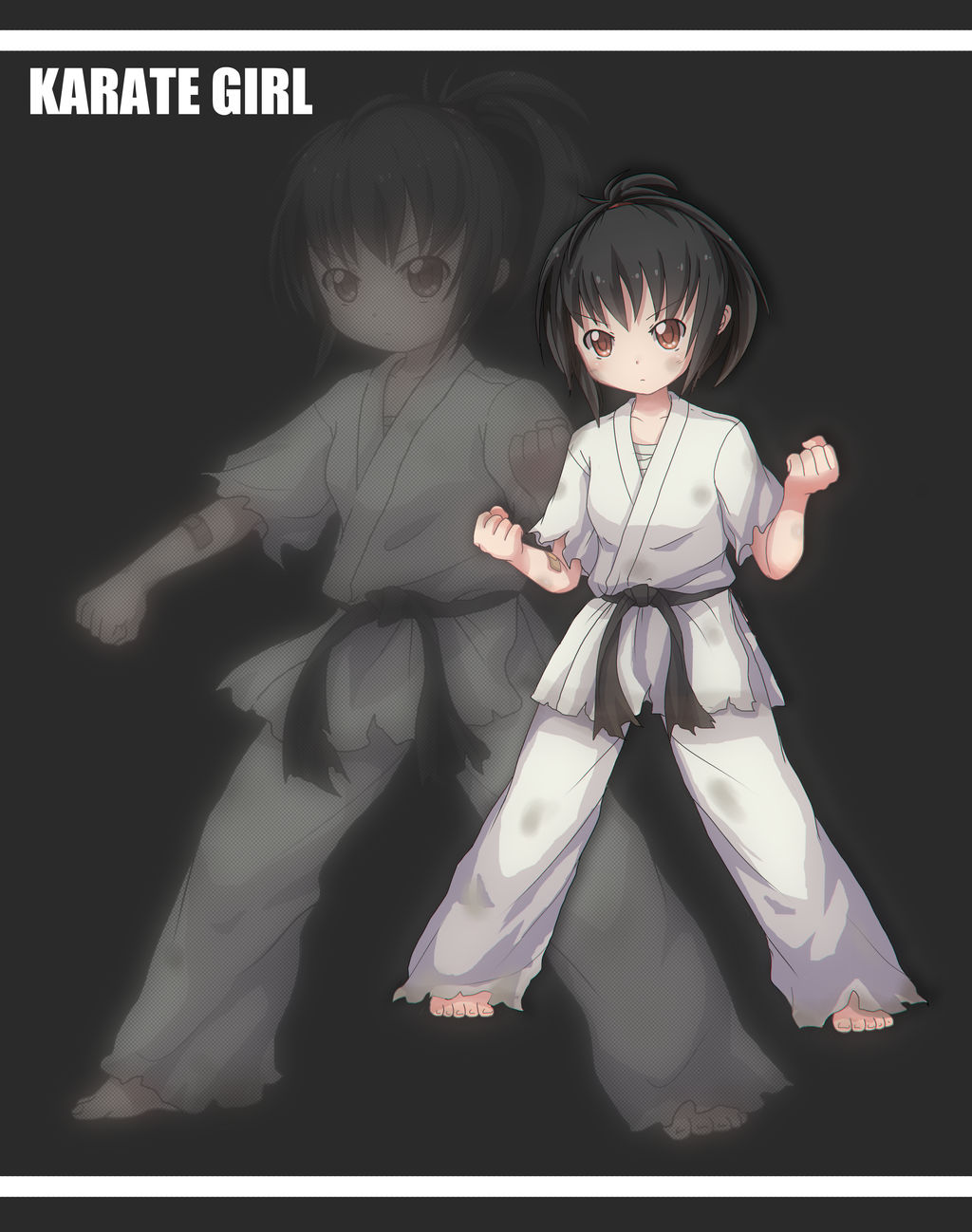 Karate Girl By Sdgundam22455 On Deviantart