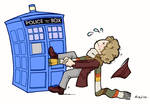 The Doctor in trouble by telesketch