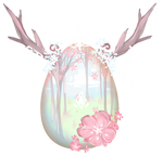 [CLOSED] Winged Deer Mystery Egg {AUCTION} by agentine