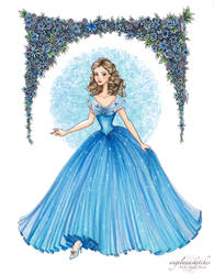Cinderella by angelaaasketches