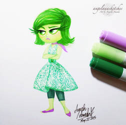 Disgust by angelaaasketches