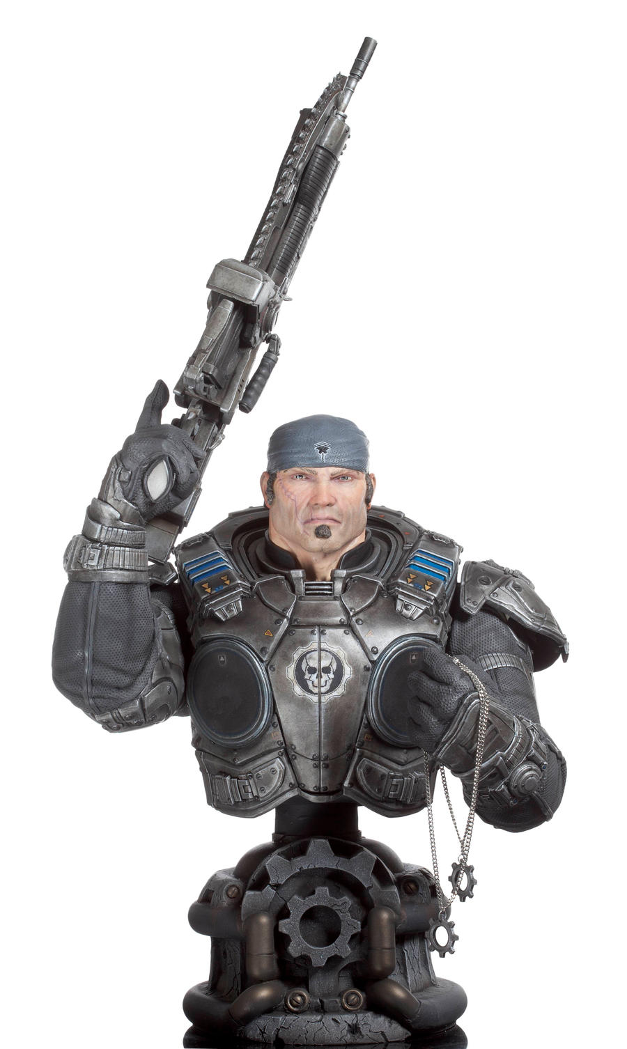 Marcus Fenix Gears Of War By Zkulptor On Deviantart