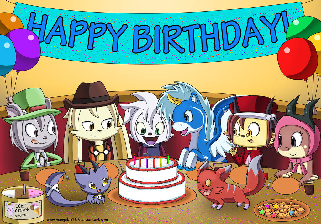 Bei's Party by MangaFox156