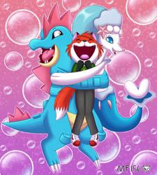 Pokemon Birthday Hug