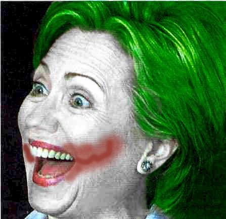 Why So Serious, Hillary? by xAikaNoKurayami