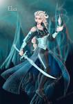 Elsa the Frozen warrior
