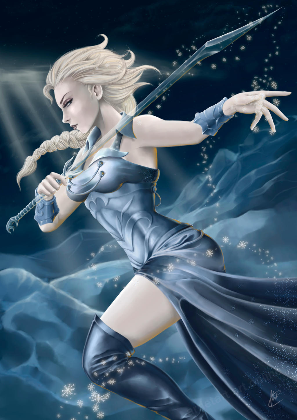 elsa_the_frozen_warrior_ver_2_by_arrieta