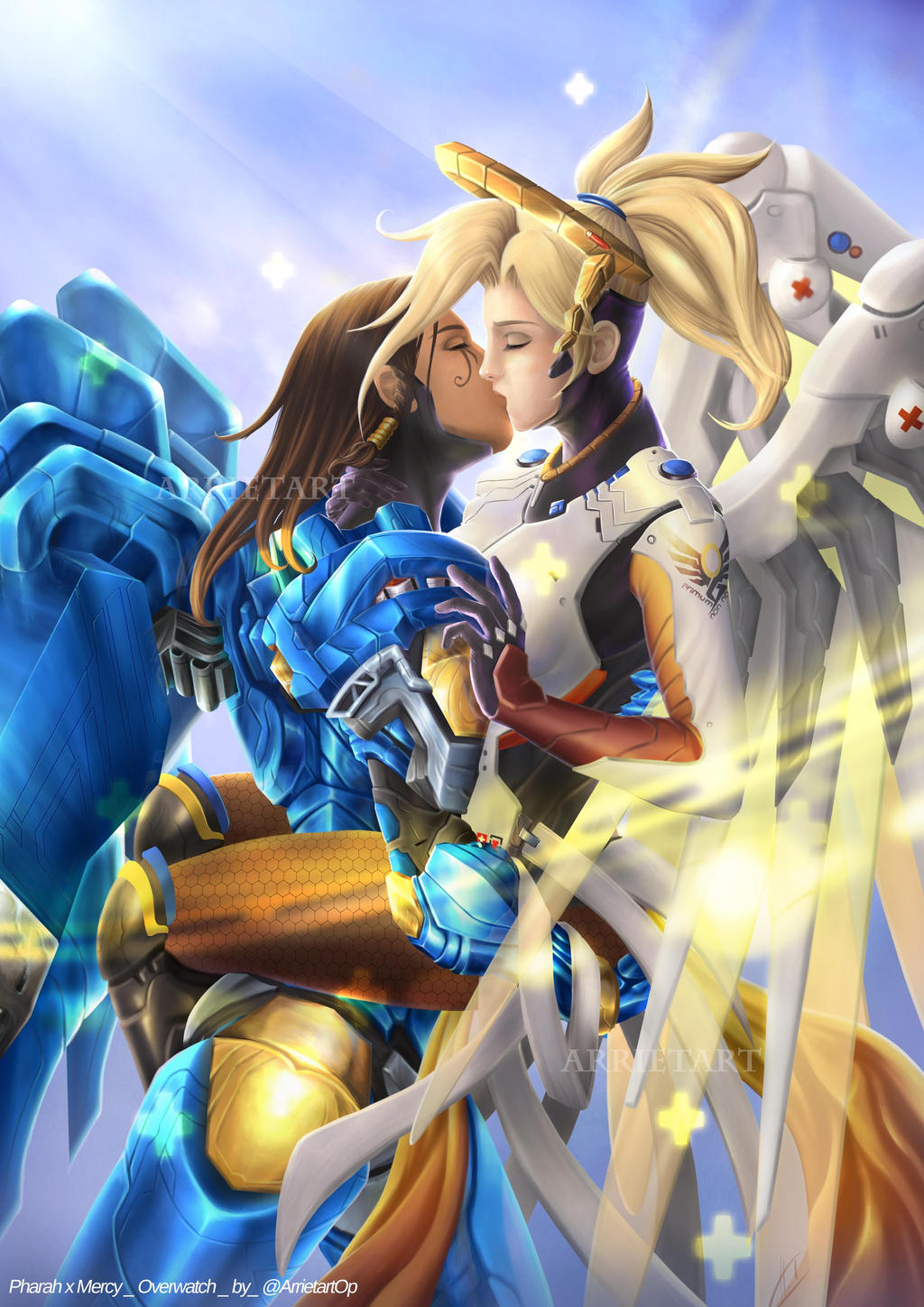 Pharah X Mercy Comp