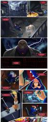 My Origin as a Super Spider (part 1) by Arrietart