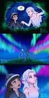 Elsamaren and the Northern Lights