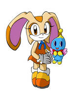 .::Sonic Heroes::. Cream and Cheese