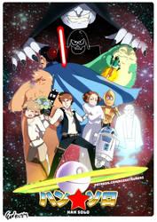 Dandy Han Solo by RizzyDA