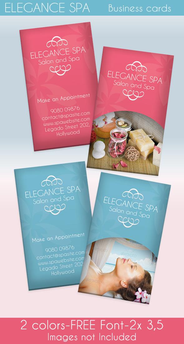 Spa Business cards by ingridk on DeviantArt